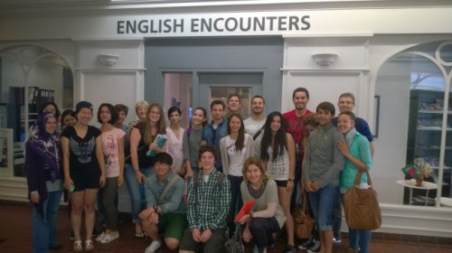 «English Encounters Burlington»